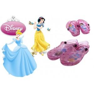 Scarpe bambini sabot colorati DISNEY PRINCIPESSE personaggio BIANCANEVE E CENERENTOLA sandali con luci mare da passeggio