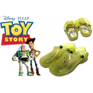 Scarpe bambini sabot colorati DISNEY personaggio TOY STORY sandali con luci mare da passeggio