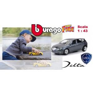 Image of Modellino auto Bburago street fire LANCIA DELTA  macchinina da collezione scala 1: 43 8016342243540