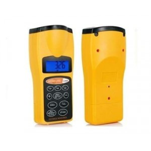 Image of Misuratore di distanza puntatore laser misura livella a batterie schermo lcd 8435524505281