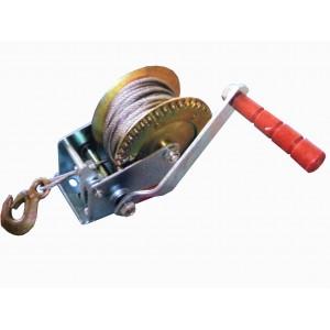 Image of Paranco verricello manuale 1000lb cavo acciaio 10 mt 8000000114082