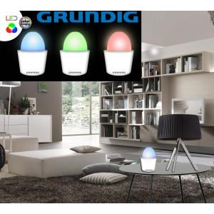 Lampada 7 LED  da tavolo rgb color changing GRUNDING DECORATIVA