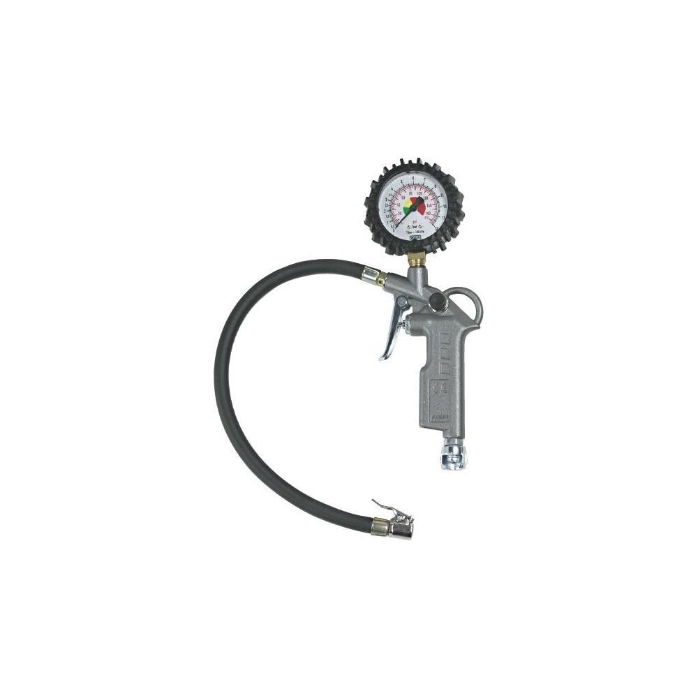 Pistola compressore gonfiaggio manometro pneumatici da 0 - 15 Bar