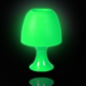 Image of Lampada da tavolo LIFETIME lighting paralume in plastica colorata luce decorativa atmosfera relax 8016485456661