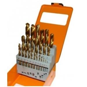 Image of Punte trapano in lega titanium dorate 25 pezzi utensili 8000000106612