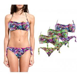 DW8885 Costume bikini mod. ALICE in due pezzi con coppe imbottite