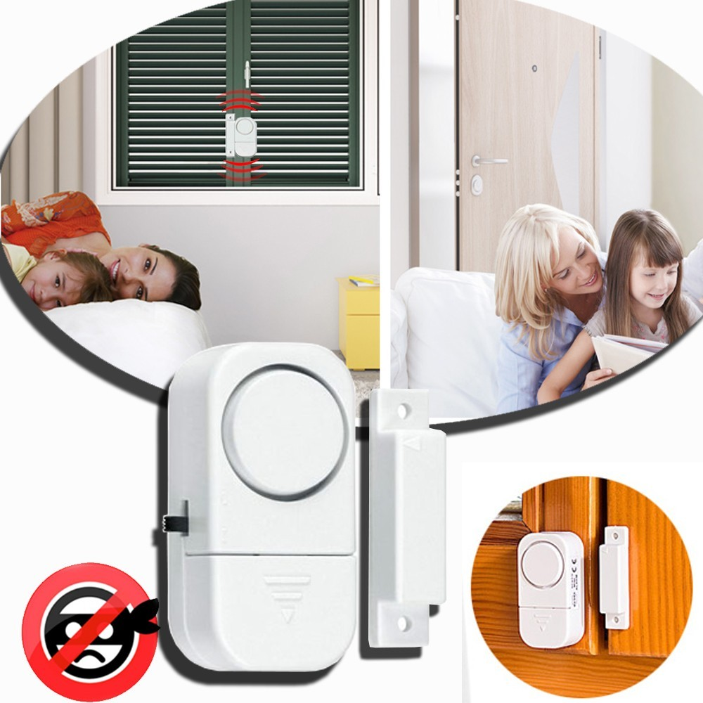 Allarme porte e finestre funzione antifurto protezione - Allarme per casa senza fili ...