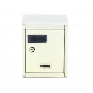 Cassetta Postale in lamiera 064999 con targhetta e sportellino superiore
