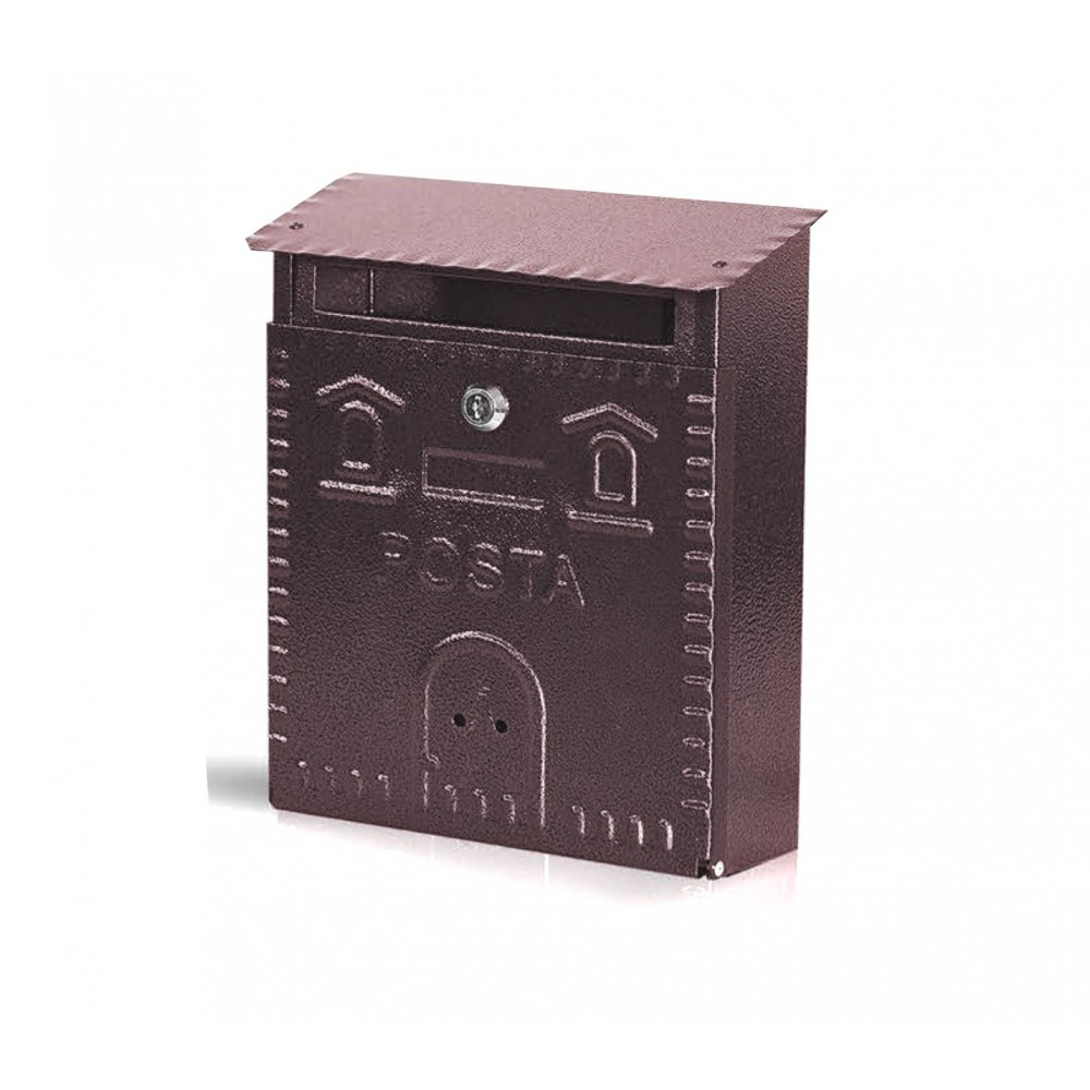 Cassetta Postale Sender ARTIGIAN FERRO Art. 701 con serratura 23X9X29 cm
