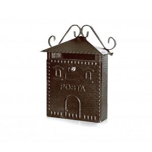 Cassetta Postale in metallo Regius con targhetta e serratura ART703