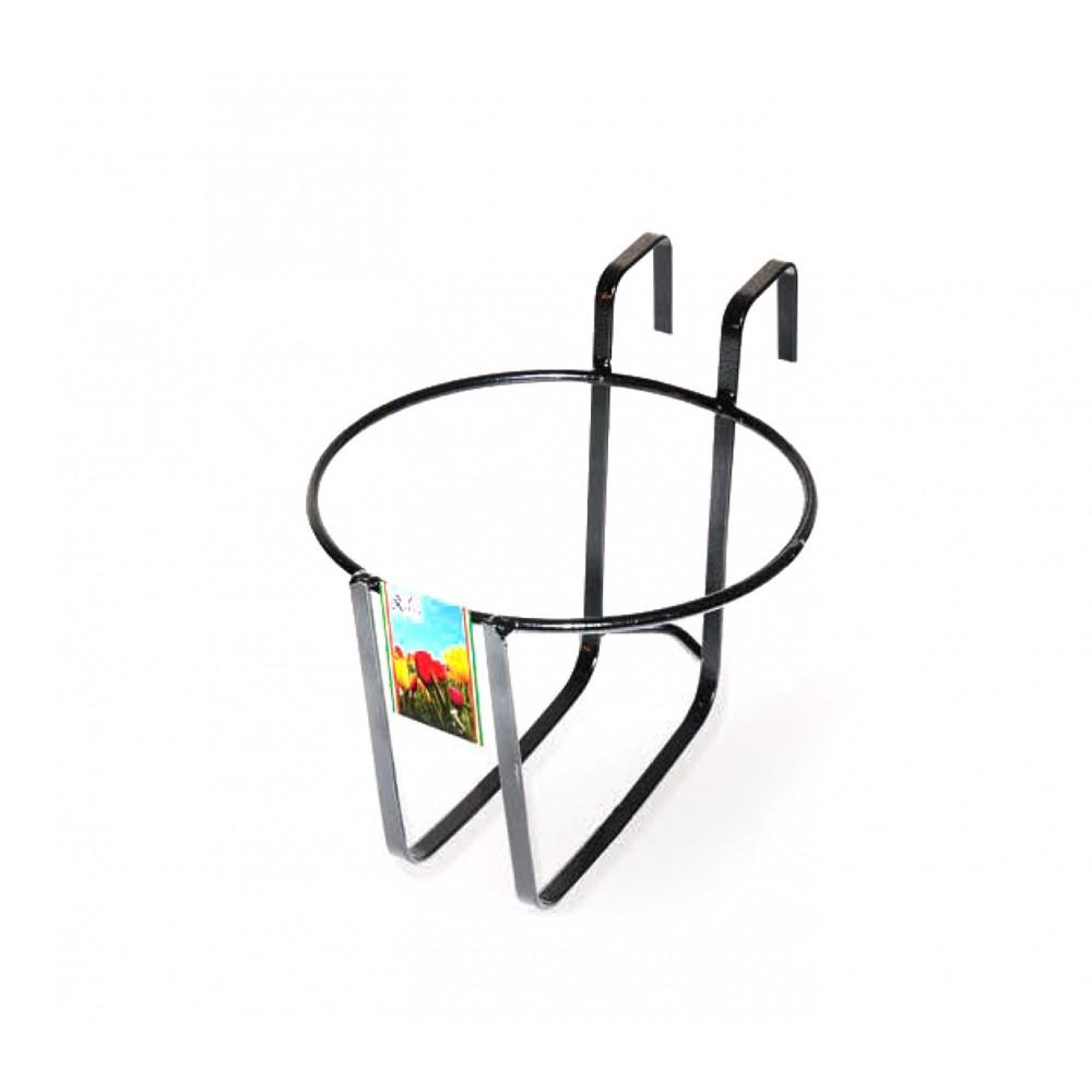 Fioriera balconiera tonda GERANIO Art. 752 ARTIGIAN FERRO 22x18h cm