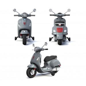 Moto elettrica PIAGGIO per bambini VESPA GS B70592 con rotelle 12V luci led