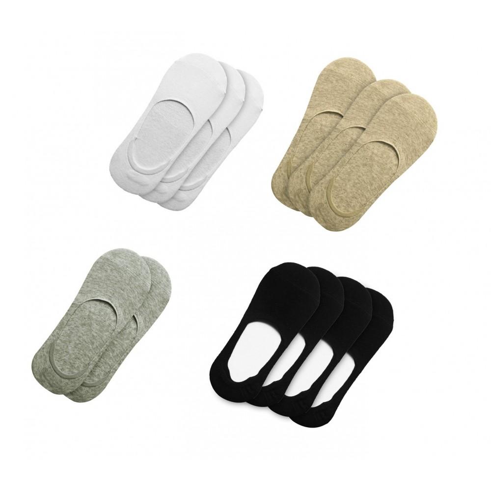Pack 12 paia di calzini donna NY-700D con striscia di silicone antiscivolo