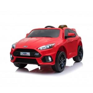 Image of Auto bambini elettrica Suv FORD FOCUS RS B81324 sedile in pelle 12V telecomando 8435524515648