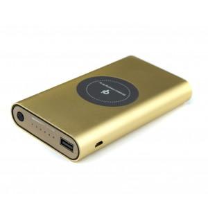 Image of Powerbank portatile 10000 mAh carica batterie e piastra Qi per ricarica Wireless 8435524519264