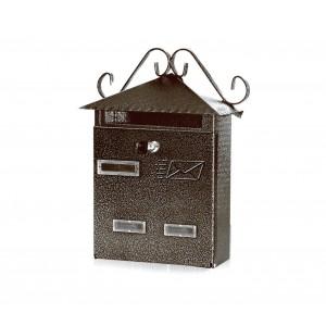 Cassetta Postale Regius ARTIGIAN FERRO Art. 703.BIS con serratura 30x10x36 cm