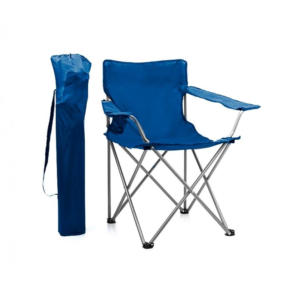Sedia piegevole JOY SUMMER da spiaggia campeggio mare 480718 con portabicchiere