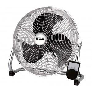 Ventilatore industriale SDS a grande portata VIT-50C con 3 pale 50cm in metallo
