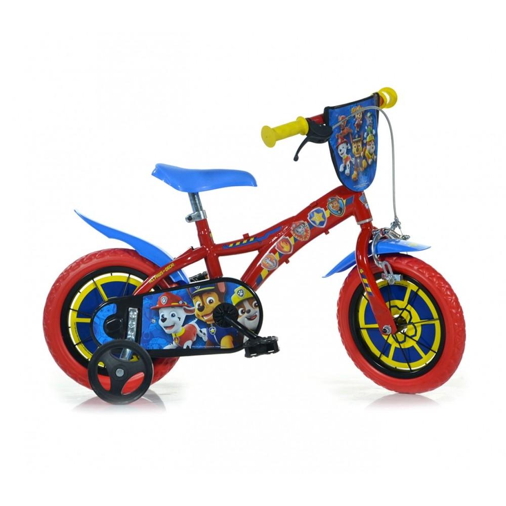 Bicicletta bambino DINO BIKES 612L-PW misura 12 PAW PATROL bici età 3-5 anni