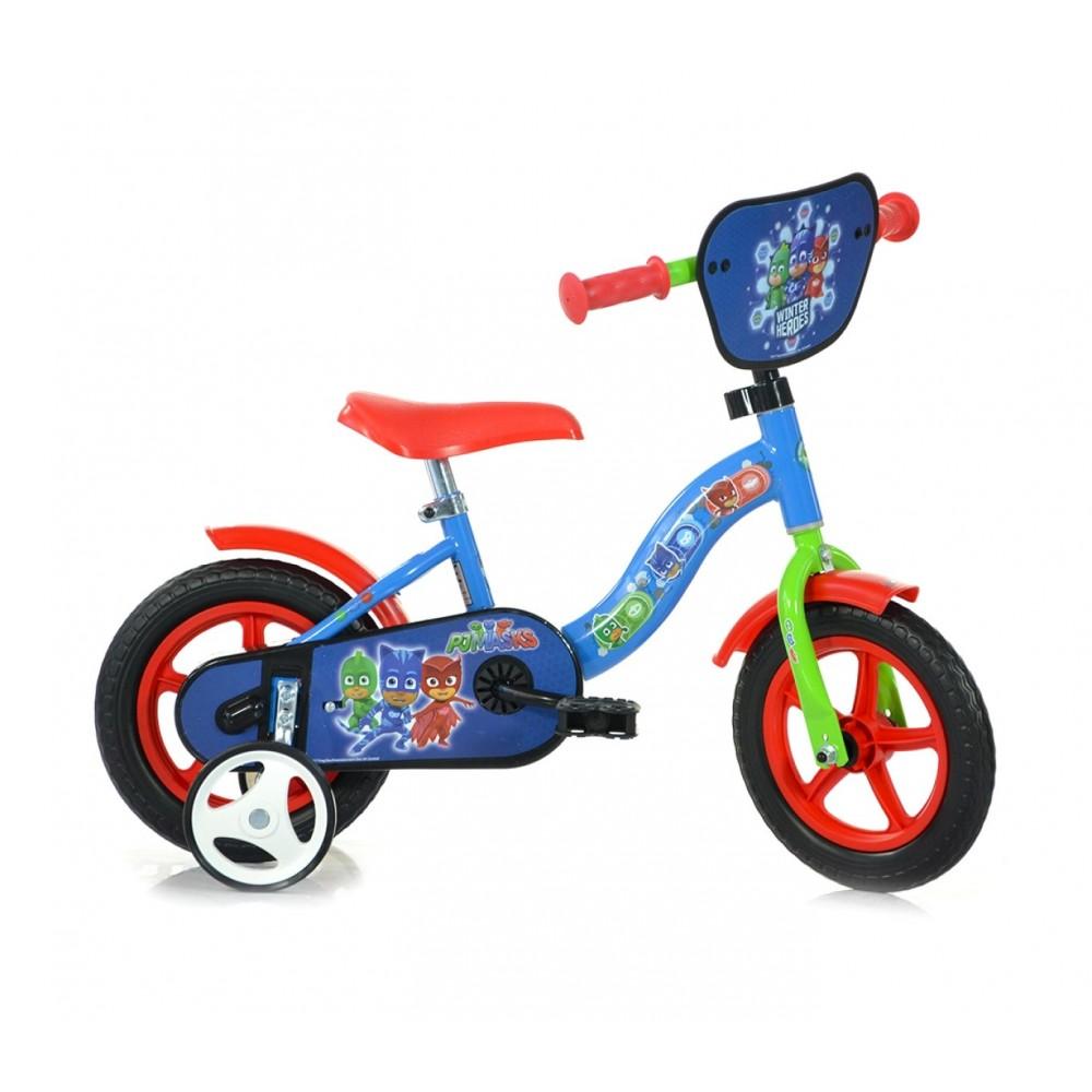 Bicicletta bambino DINO BIKES 108L-PJ misura 10 PJ MASKS  bici età  2-4 anni