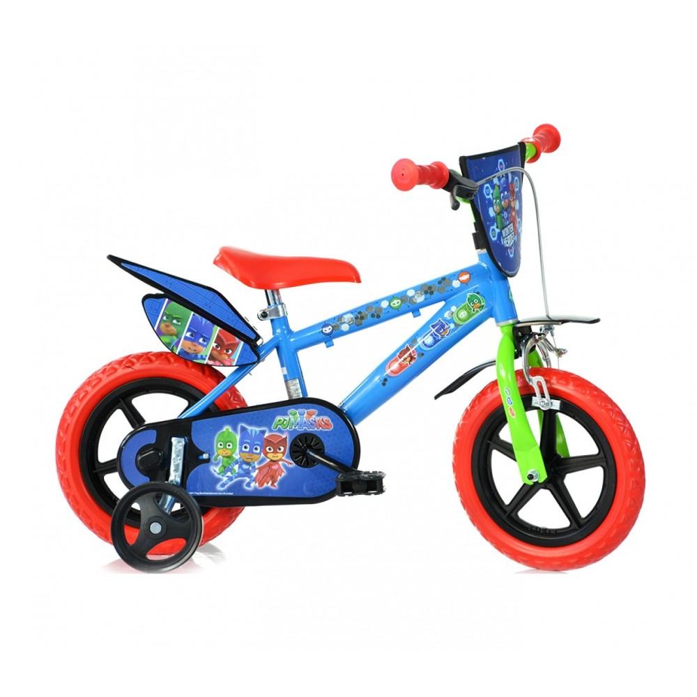 Bicicletta bambino/a 412UL-PJ misura 12''  PJ MASKS  bici bambino età 3- 5 anni