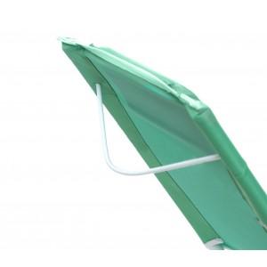 Image of Sdraio pieghevole JOY SUMMER 441030 spiaggina Textilene con cuscino tubo 22 8435524520062