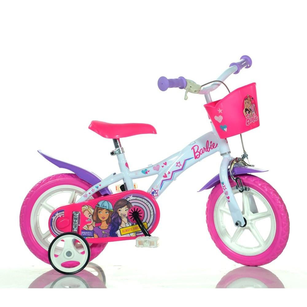 Bicicletta bambina 612 GL-BA  misura 12'' BARBIE  bici età 3- 5 anni