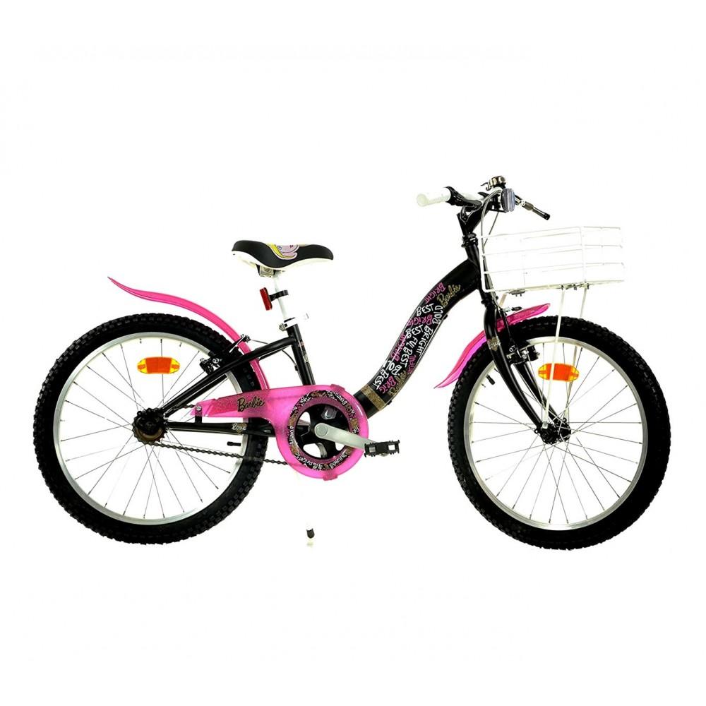Bicicletta da passeggio 204 R-BA  misura 20'' BARBIE  bici bambina età 6- 9 anni