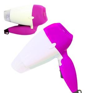 Phon asciuga capelli pieghevole da viaggio 3 colori 850 w dhomteck system