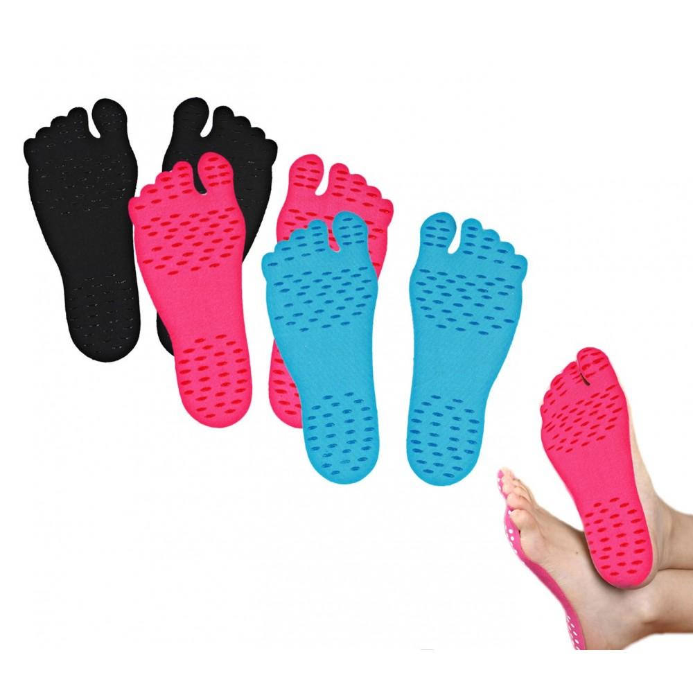 Pack da 6 Paia di Pellicole adesive ADFoot per i piedi igienico antiscivolo