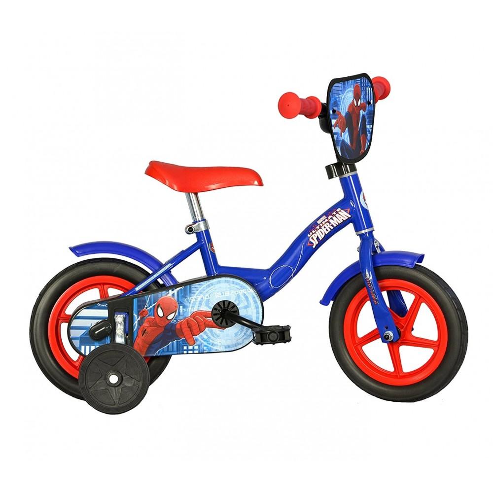 Bicicletta bambino 108 L-SA misura 10'' SPIDERMAN ULTIMATE bici età 2-3 anni