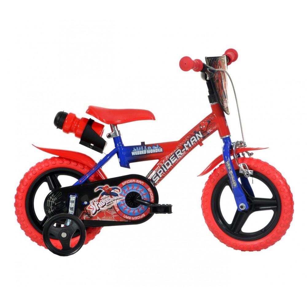 Bicicletta bambino 123 GLN-SA  misura 12'' SPIDERMAN ULTIMATE età 3-5 anni