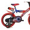 Bicicletta bambino 143 G-SA misura 14'' SPIDERMAN ULTIMATE età 3-6 anni