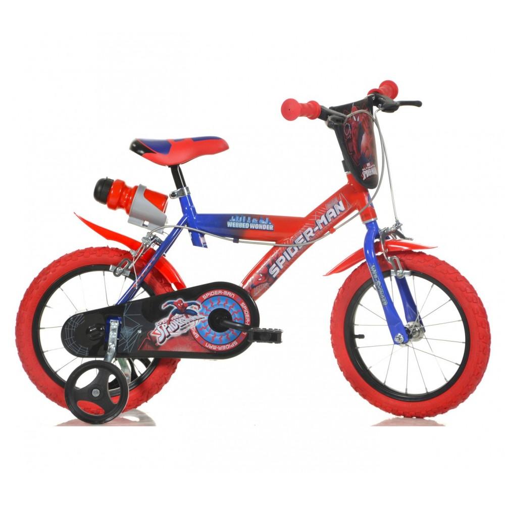 Bicicletta bambino 163 G-SA  misura 16'' SPIDERMAN ULTIMATE età 4-7 anni