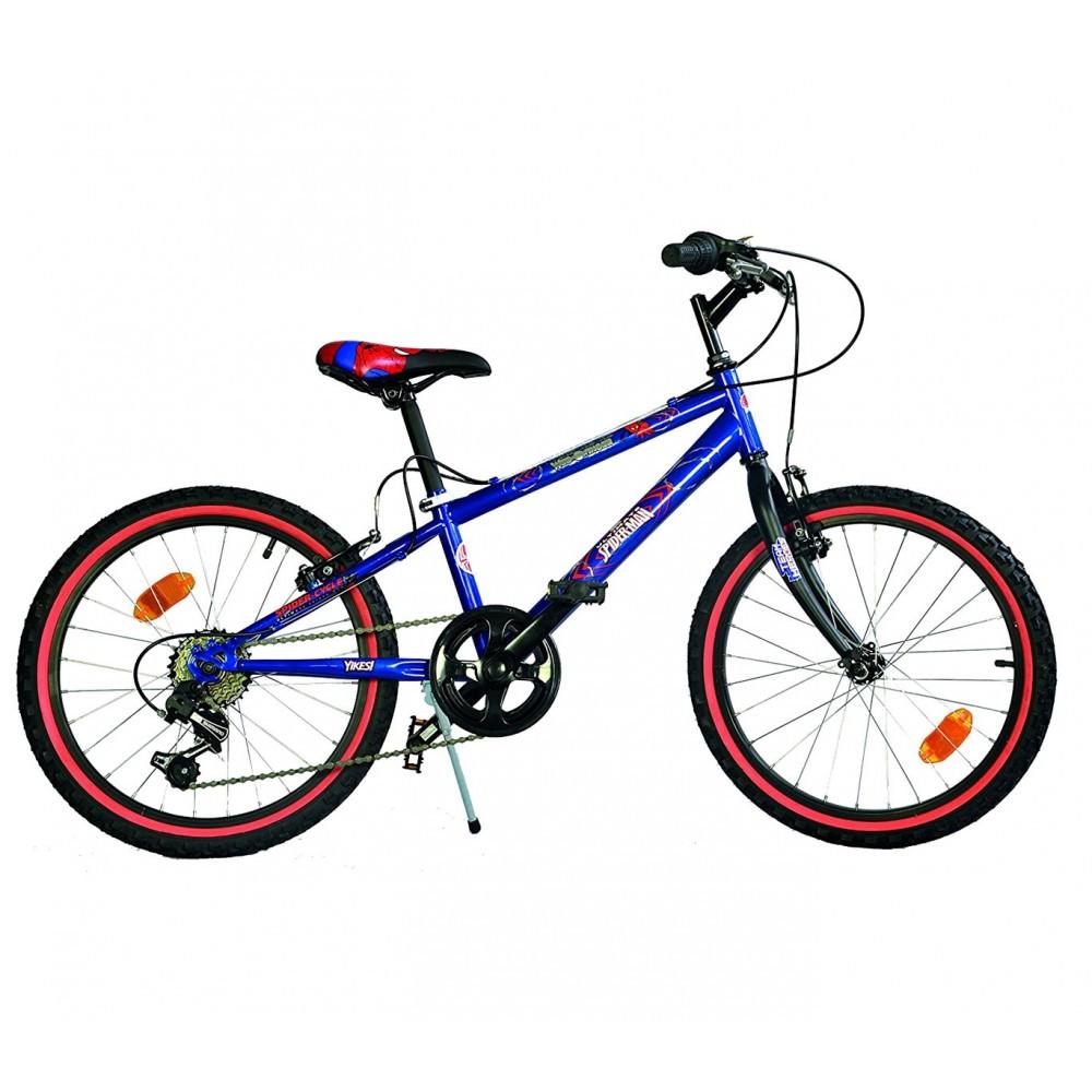 Bicicletta SPIDERMAN mountain bike 420 U-13SA misura 20'' età 6-9 anni
