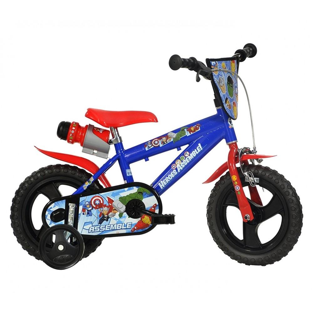 Bicicletta bambino 412 UL-AV misura 12'' AVENGERS bici età 3-5 anni