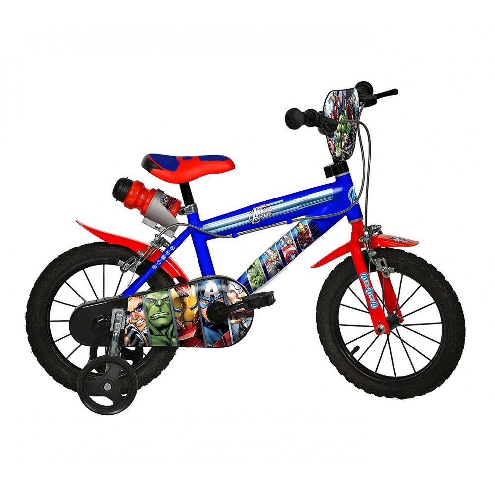 Bicicletta bambino 414 UL-AV misura 14'' AVENGERS bici età 3-6 anni