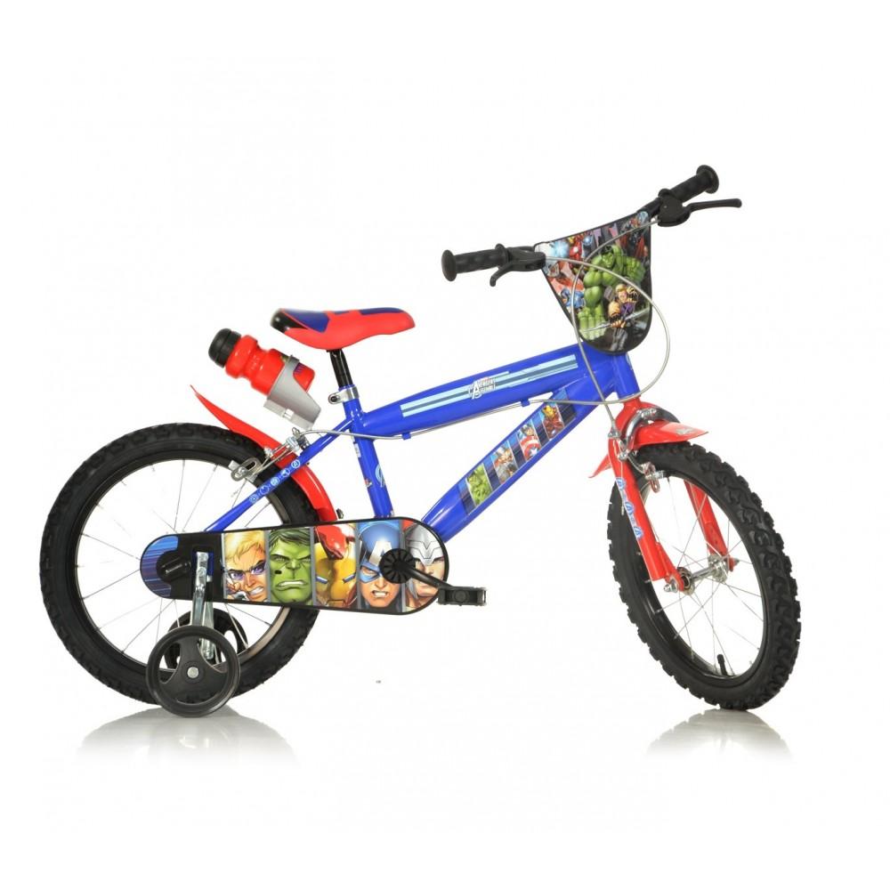 Bicicletta bambino 416 UL-AV misura 16'' AVENGERS bici età 4-7 anni