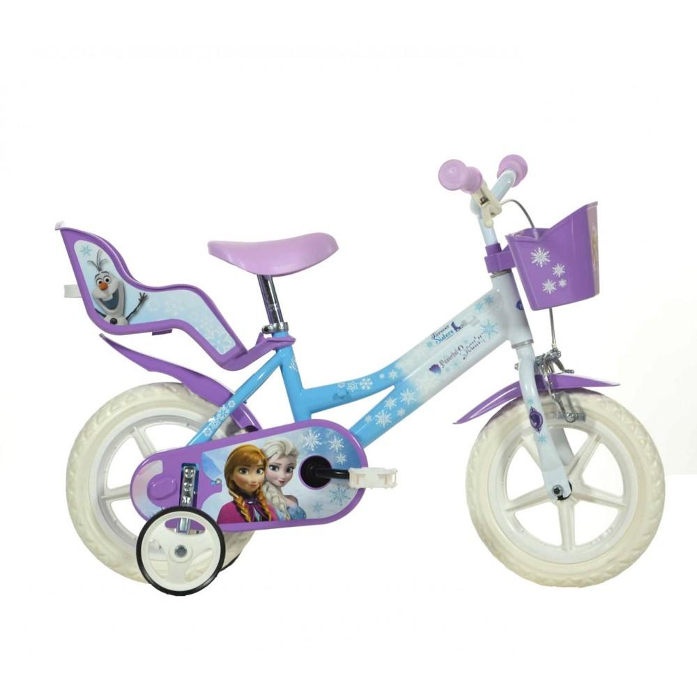 Bicicletta bambina DINO BIKES 126 RL-FZ2  misura 12 FROZEN bici età 3-5 anni