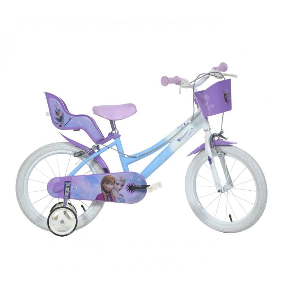 Bicicletta bambina DINO BIKES 146 RL-FZ2  misura 14 FROZEN bici età 3-6 anni
