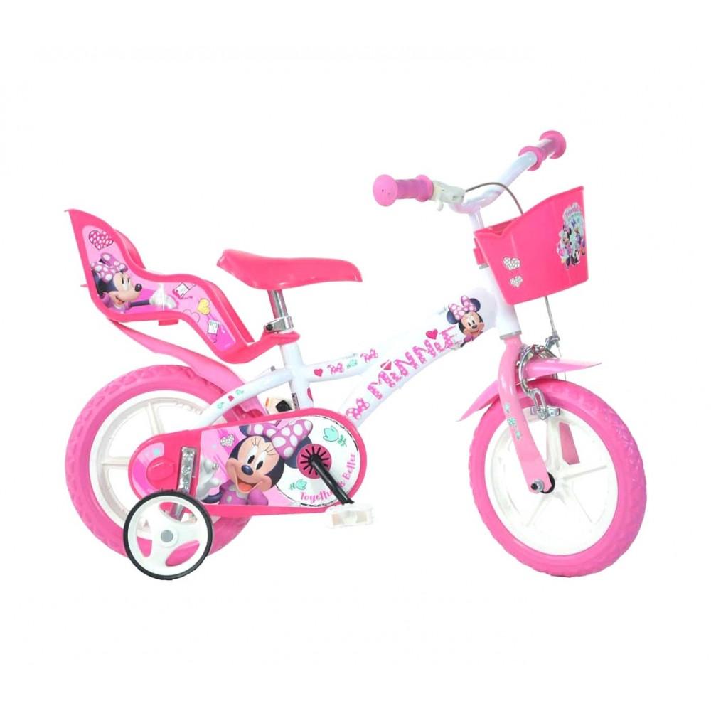 Bicicletta bambina DINO BIKES 612 L-NN misura 12 MINNIE bici età 3-5 anni