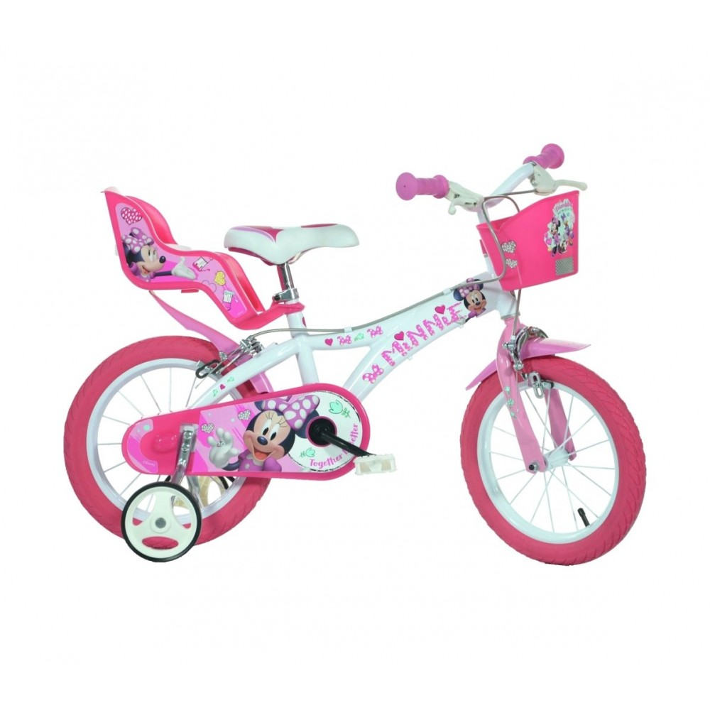 Bicicletta bambina DINO BIKES 614 L-NN misura 14 MINNIE bici età 3-6 anni