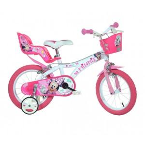 Bicicletta bambina 616 L-NN misura 16'' MINNIE bici età 4-7 anni