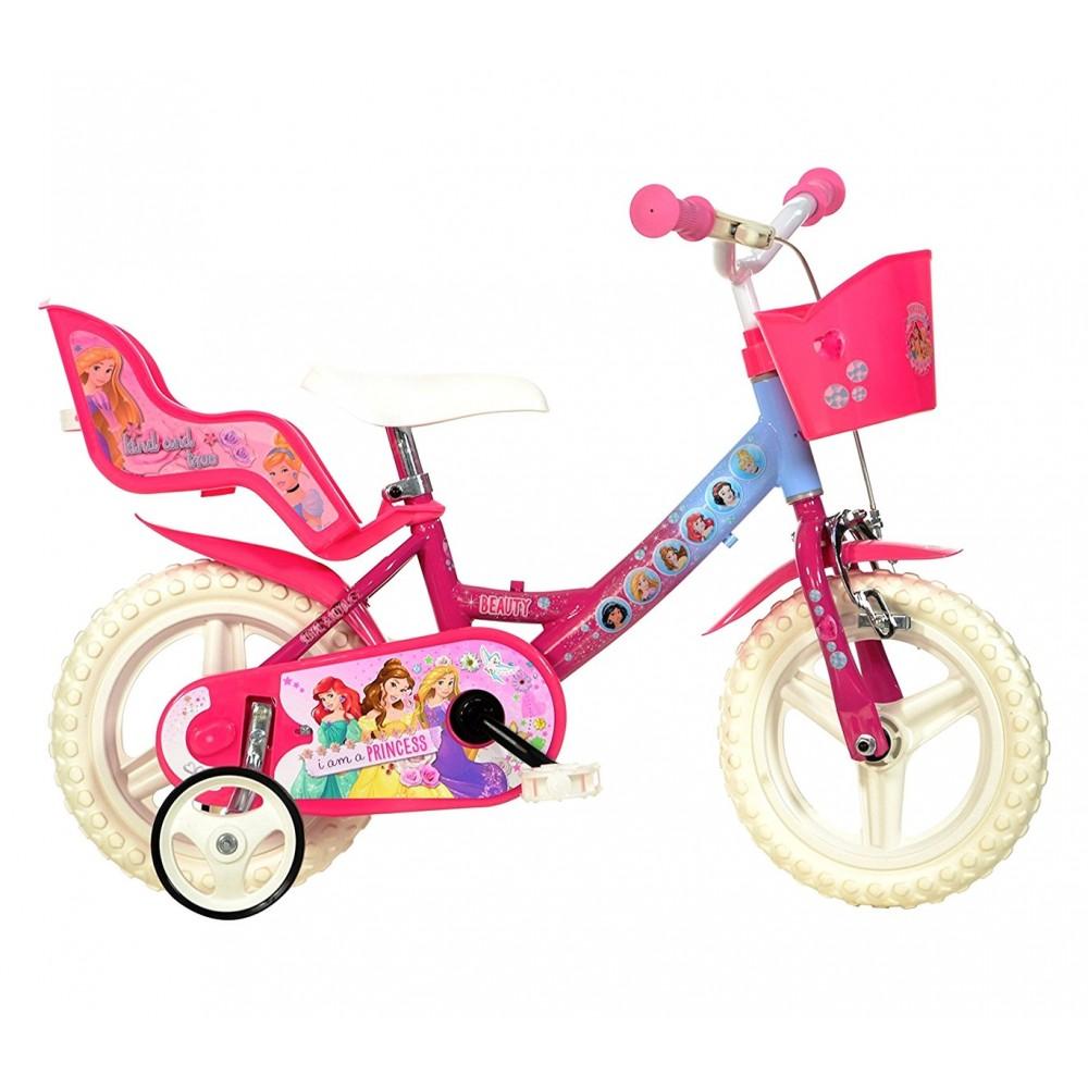 Bicicletta bambina 124 RL-PSS misura 12 PRINCIPESSE DISNEY bici età 3-5 anni