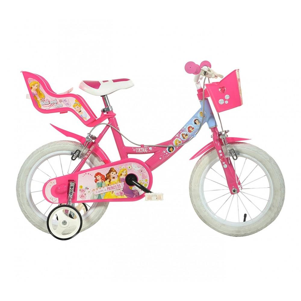 Bicicletta bambina 164 RL-PSS misura 16 PRINCIPESSE DISNEY bici età 4-7 anni