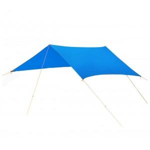 Tenda a sospensione parasole per camping con picchetti e tiranti inclusi