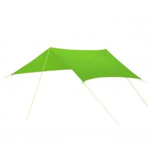 Image of Tenda a sospensione con parasole 10745 per camping con picchetti e tiranti 8435524514726