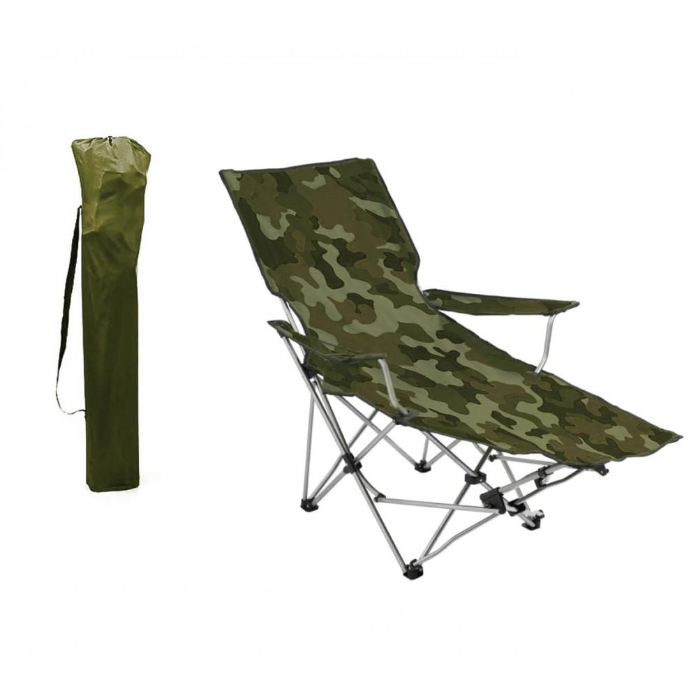 Sedie Sdraio Alluminio Con Poggiapiedi.391808 Sedia Pieghevole Da Campeggio E Giardino Con Poggiapiedi