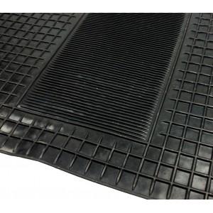 Set 4 tappetini auto in gomma antiscivolo universali tappeti  anti slip