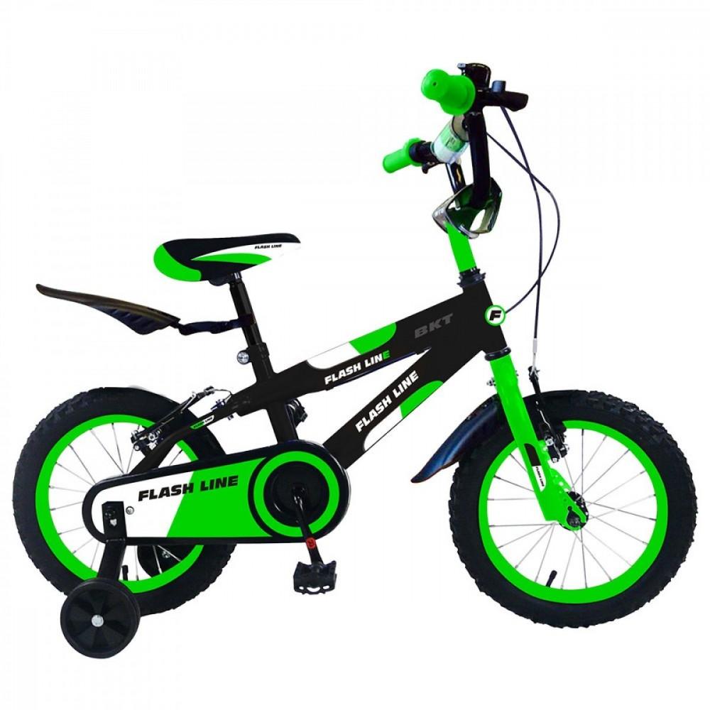 Bicicletta Flash Line taglia 12 bici per bambini con parafango posteriore